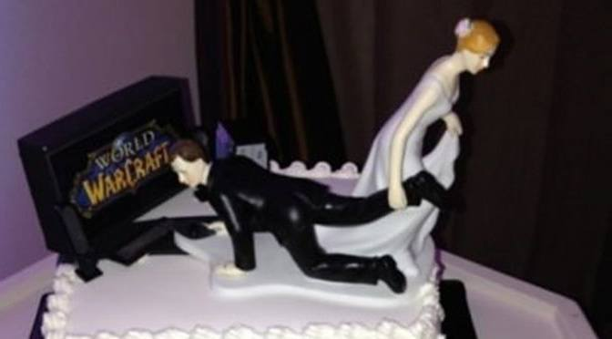 Great Gamer Wedding Cake